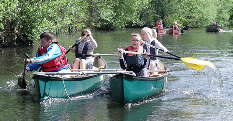 Our boats – canoes